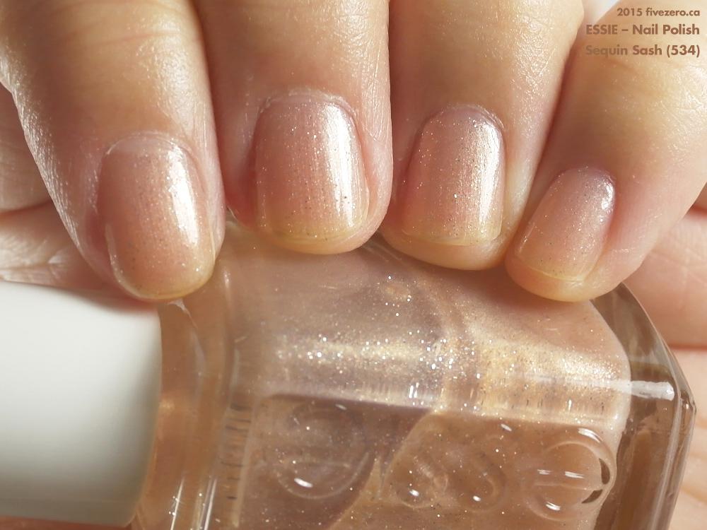 Essie Sequin Sash Nail Polish Swatch Amp Review Fivezero