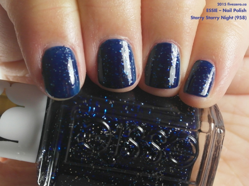 Essie Nail Polish in Starry Starry Night (Retro Revival), swatch