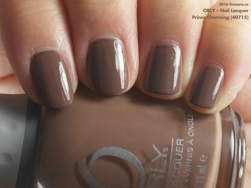 Orly Nail Lacquer in Prince Charming, swatch