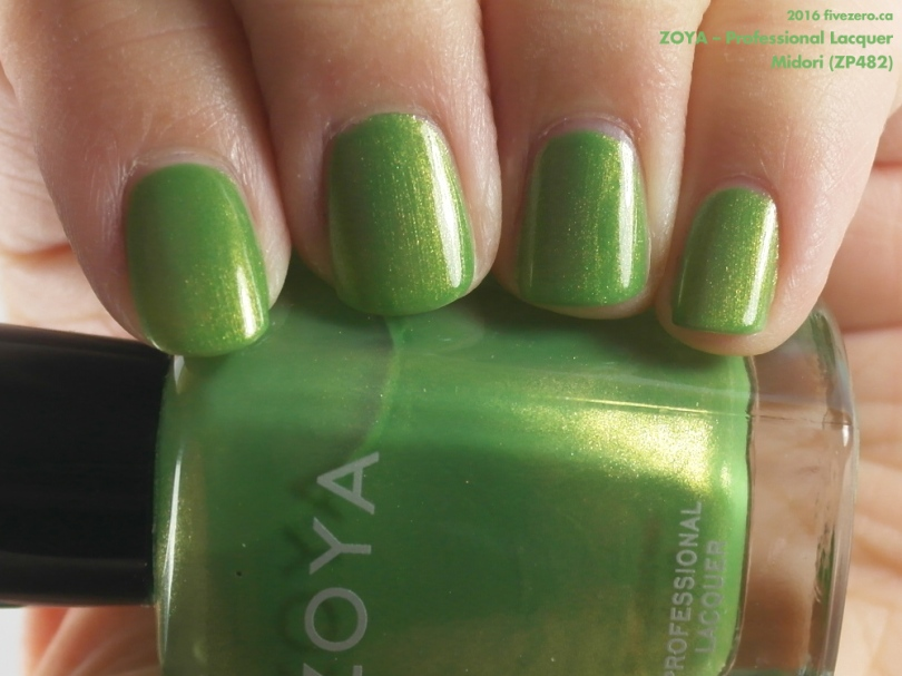 Zoya Professional Lacquer in Midori, swatch