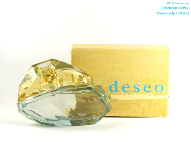 Winners haulage March 2016, Jennifer Lopez Deseo eau de parfum 50 mL
