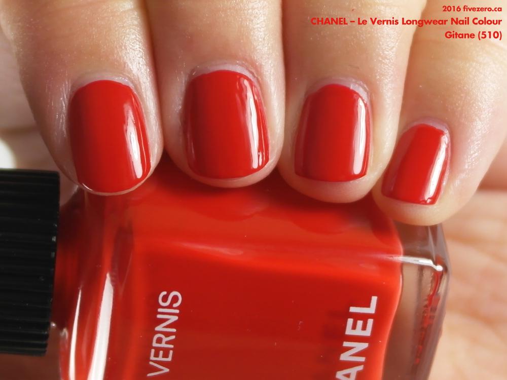 ed72e4f45ba Chanel — Gitane (Le Vernis Longwear) Swatch & Review – fivezero