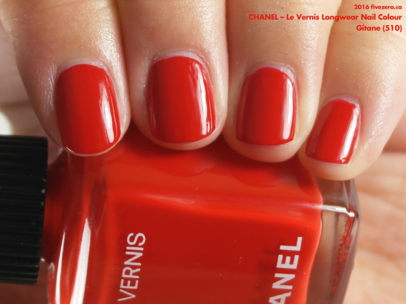 Chanel Le Vernis Longwear in Gitane, swatch
