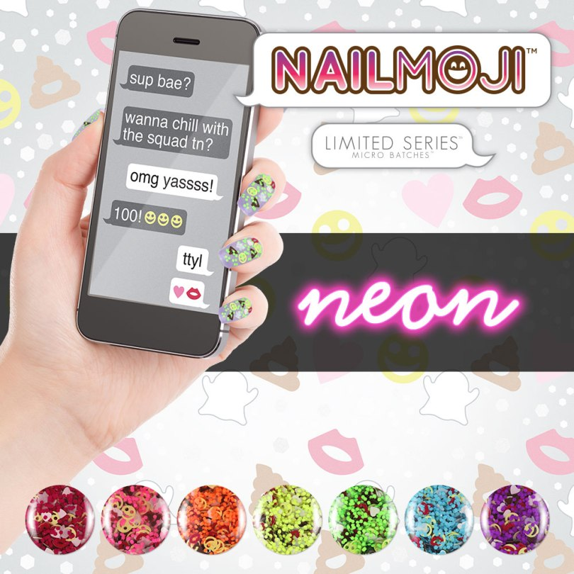 New Release: Color Club — Nailmoji Neon Collection (Summer 2016 ...