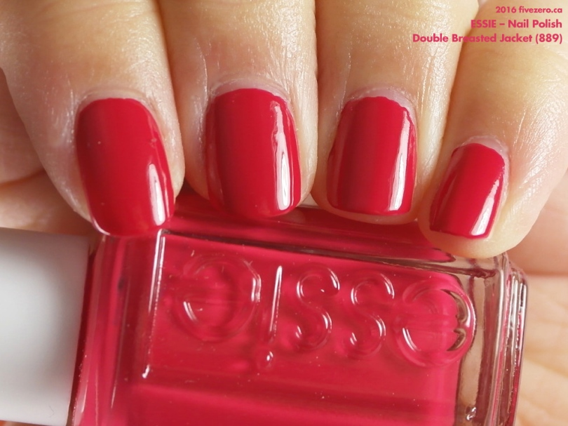 Essie — Double Breasted Jacket (Nail Polish) Swatch & Review – fivezero