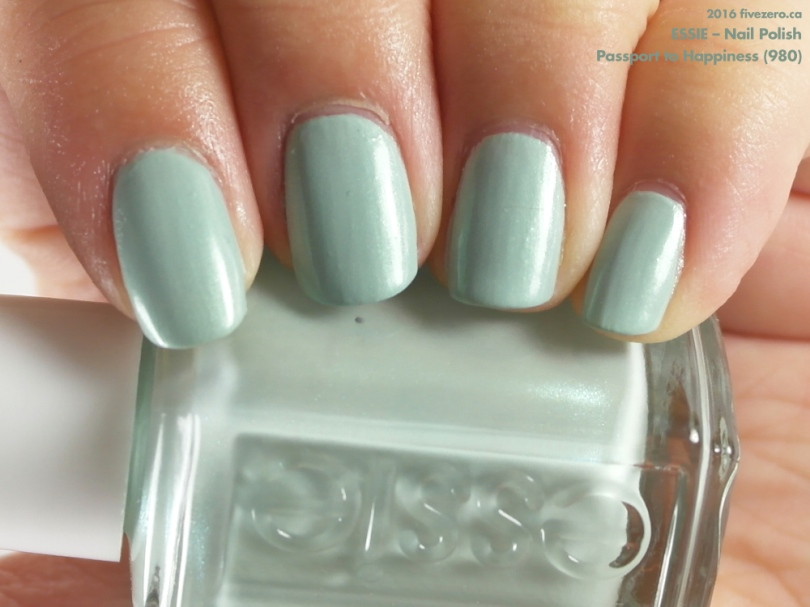 Essie — Passport to Happiness (Nail Polish) Swatch & Review – fivezero