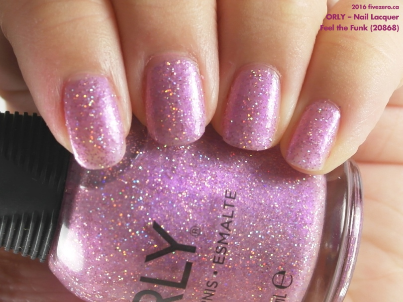 Orly — Feel the Funk (Nail Lacquer) Swatch & Review – fivezero