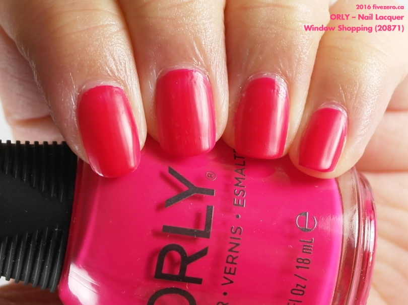 Orly Nail Lacquer in Window Shopping, swatch