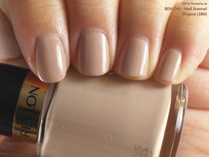 Revlon Nail Enamel in Elegant, swatch