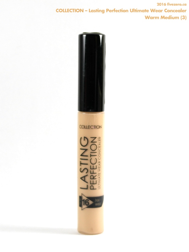Collection Lasting Perfection Ultimate Wear Concealer in Warm Medium (3)