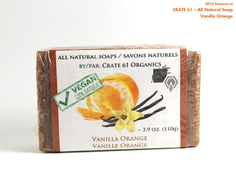 Crate 61 All Natural Soap in Vanilla Orange