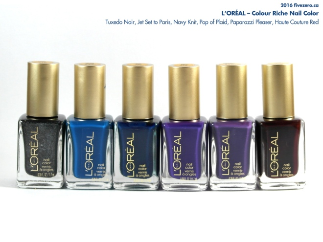 L'Oréal Colour Riche Nail Colour haulage