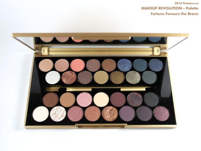 Makeup Revolution Eyeshadow Palette in Fortune Favours the Brave