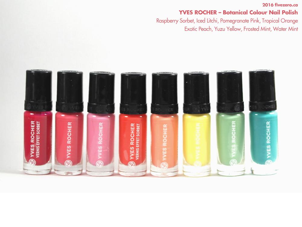 Bien-aimé Haulage! Yves Rocher — Pop'Exotic Botanical Colour Nail Polish  XE82