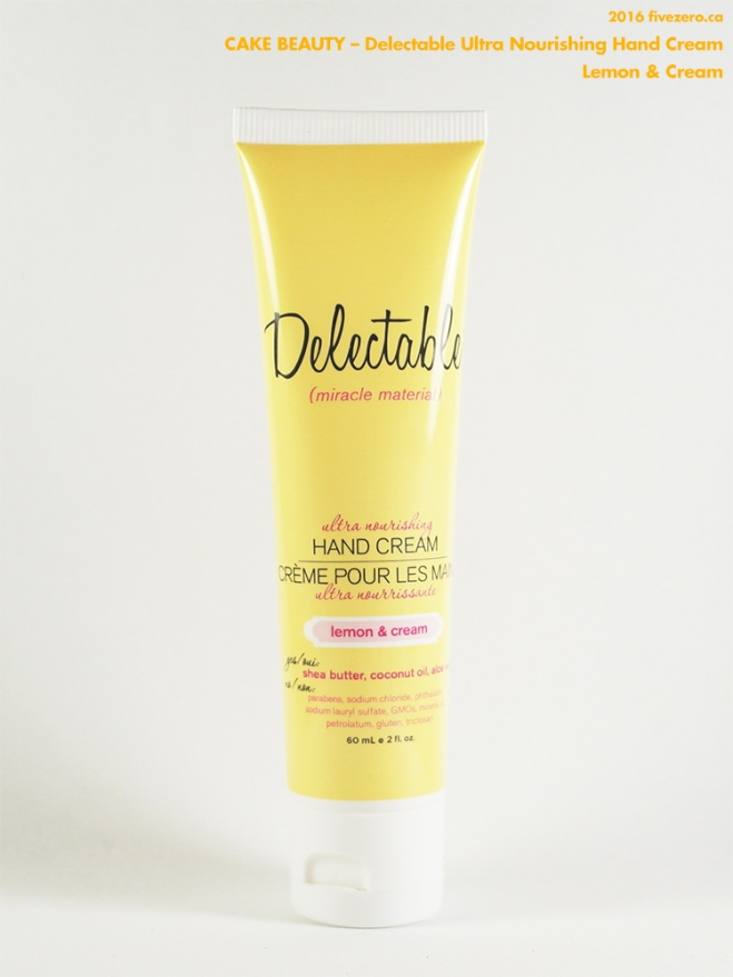 Cake Beauty Delectable Ultra Nourishing Hand Cream in Lemon & Cream