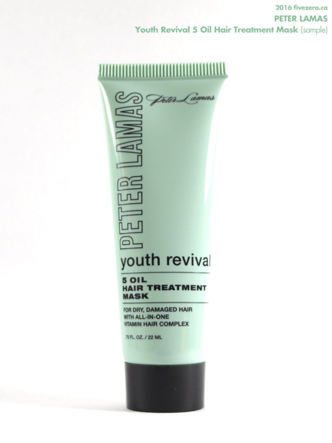 Peter Lamas Youth Revival 5 Oil Hair Treatment Mask (sample)