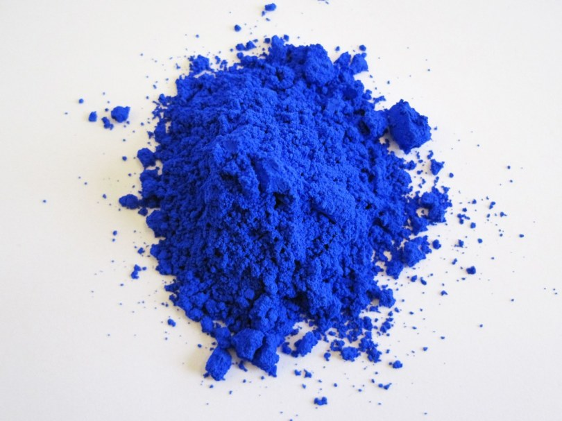 YInMn blue. Image: Oregon State University.