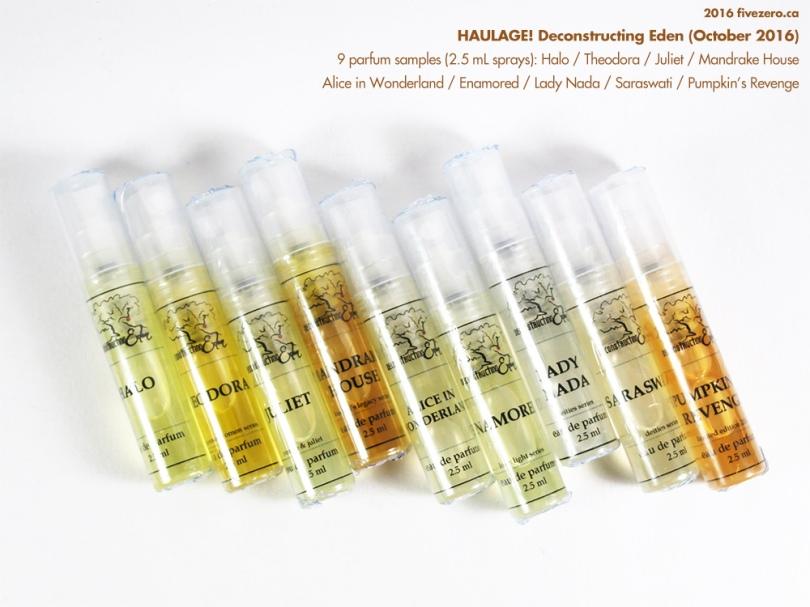 Deconstructing Eden Pumpkins Revenge Indie Perfume Review Fivezero
