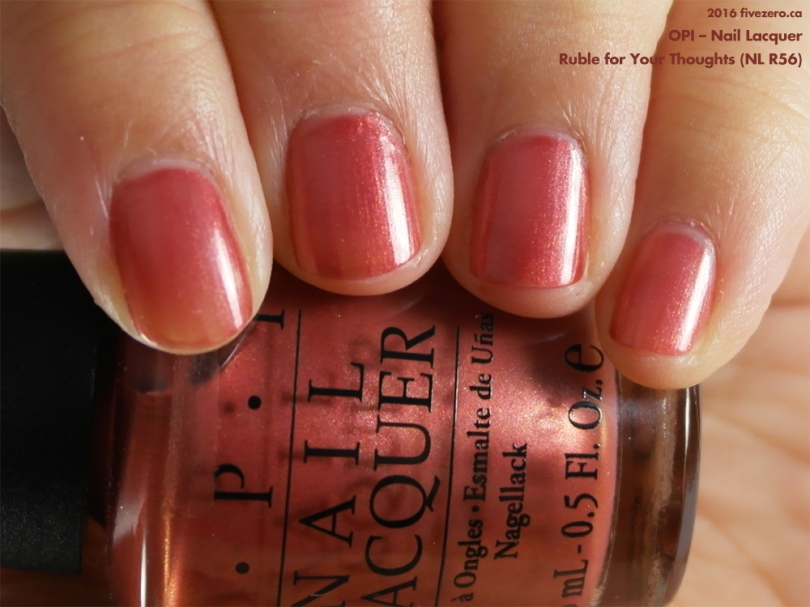 Throwback Thursday! OPI — Ruble for Your Thoughts (Nail Lacquer ...