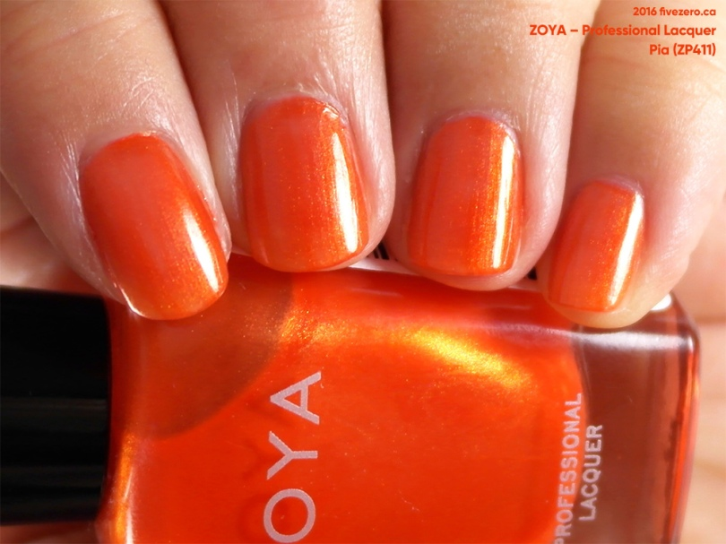 Zoya Professional Lacquer in Pia, swatch