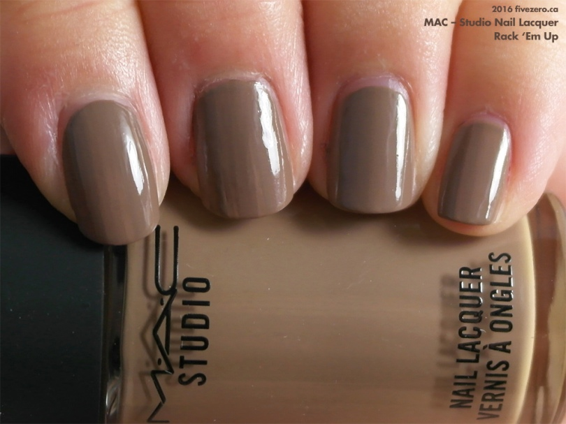 MAC — Rack \'Em Up (Studio Nail Lacquer) Swatch & Review – fivezero