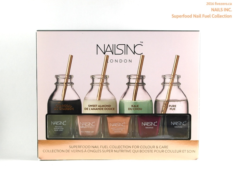 Nails Inc. Superfood Nail Fuel Collection
