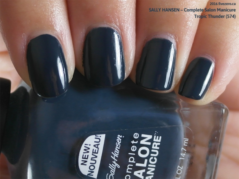 Sally Hansen Complete Salon Manicure in Tropic Thunder (Canada exclusive), swatch