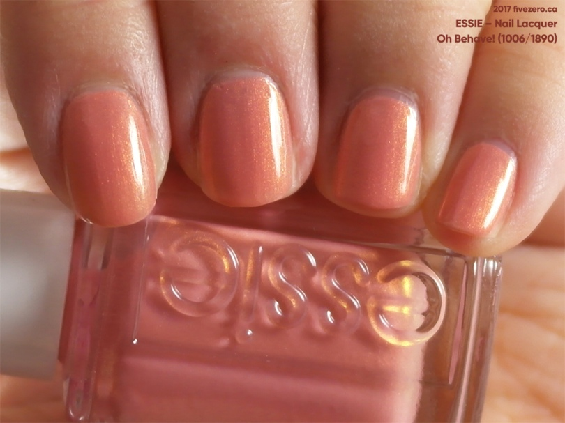 Essie Nail Lacquer in Oh Behave!, swatch