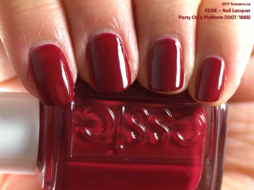 Essie — Party On a Platform (Nail Lacquer) Swatch & Review – fivezero
