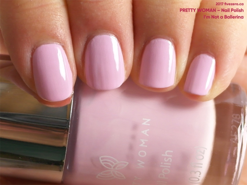 Pretty Woman Nail Polish in I'm Not a Ballerina, swatch