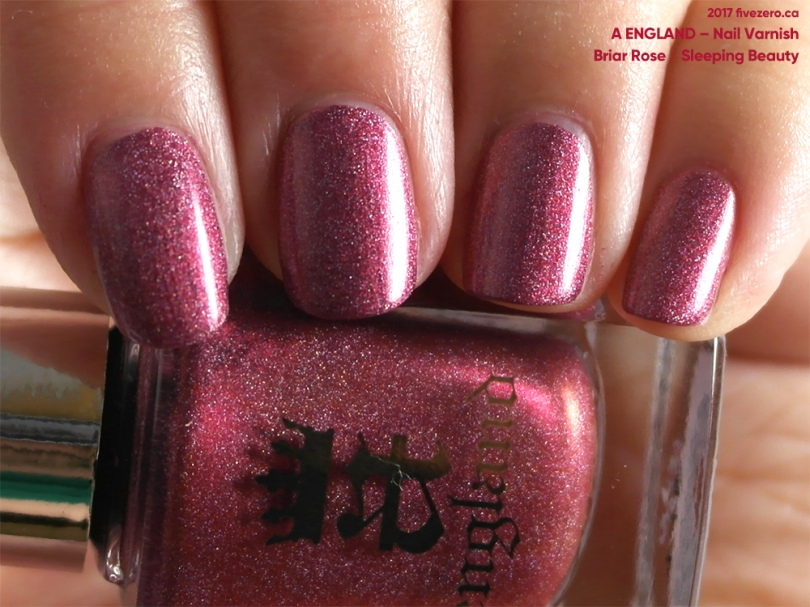 A England Nail Varnish in Briar Rose/Sleeping Beauty, swatch