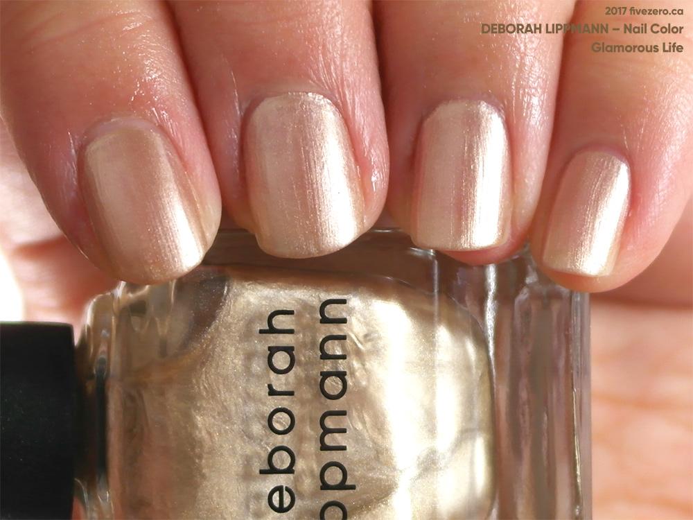 Throwback Thursday Deborah Lippmann Glamorous Life Nail Color Swatch Amp Review Fivezero