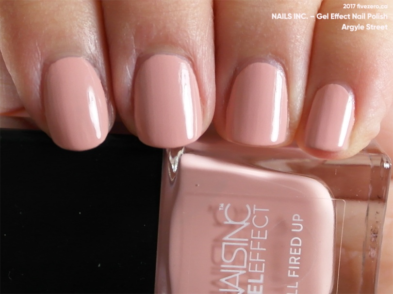 Nails Inc. — Argyle Street (Gel Effect Nail Polish) Swatch & Review ...