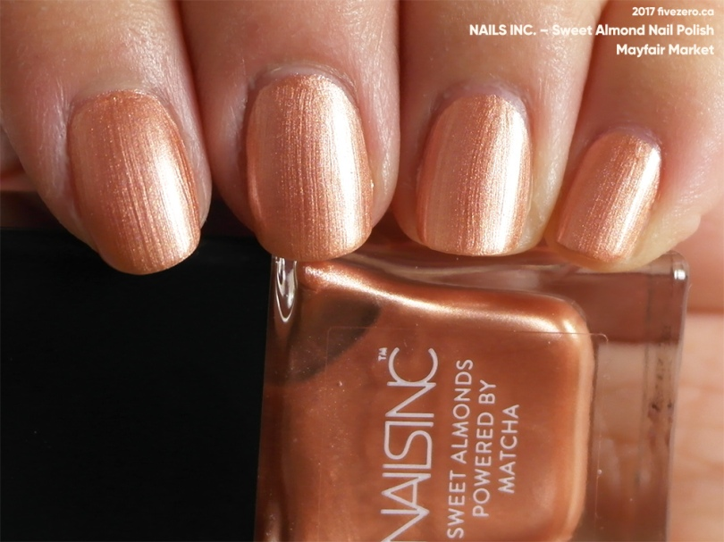 Nails Inc. — Mayfair Market (Sweet Almond Nail Polish) Swatch ...