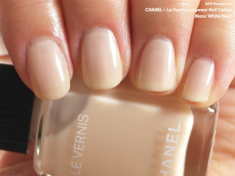 Chanel, Le Vernis Longwear in Blanc White, swatch