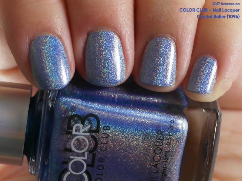 Color Club Nail Lacquer in Crystal Baller, swatch