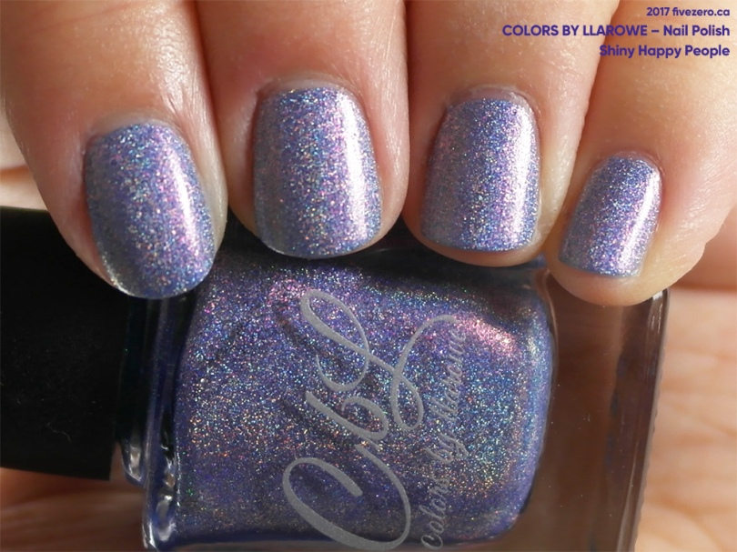 Colors by Llarowe Nail Polish in Shiny Happy People, swatch