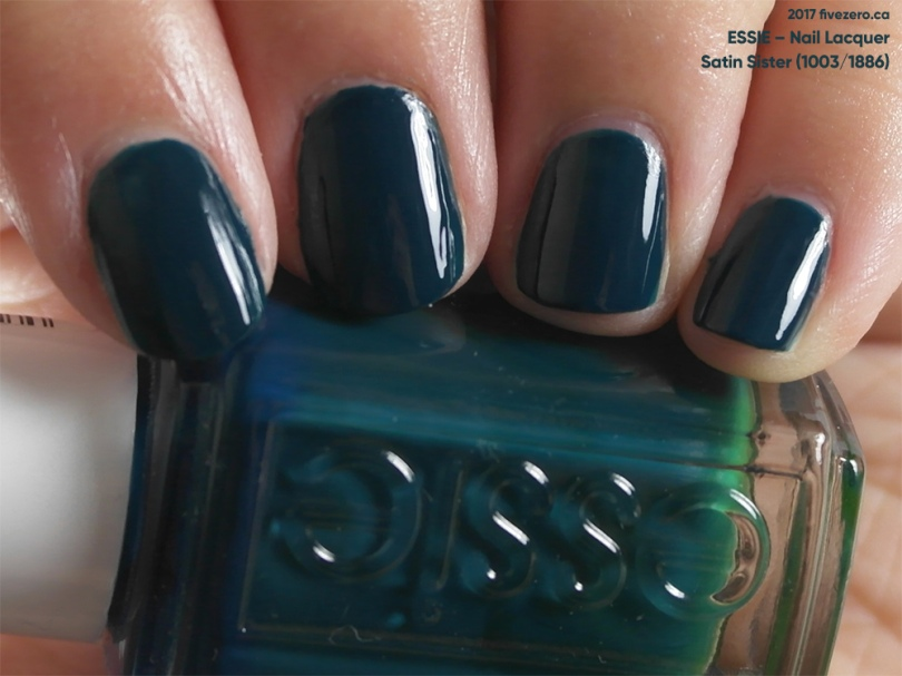 Essie Nail Lacquer in Satin Sister, swatch