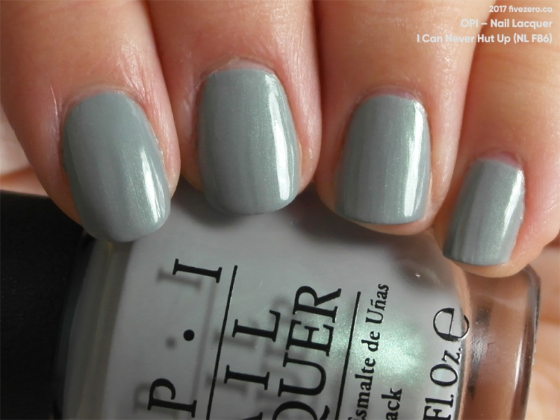 OPI — I Can Never Hut Up (Nail Lacquer) Swatch & Review – fivezero