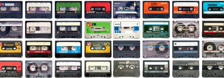 Cassette tapes. (drwhatdigital.com.au)
