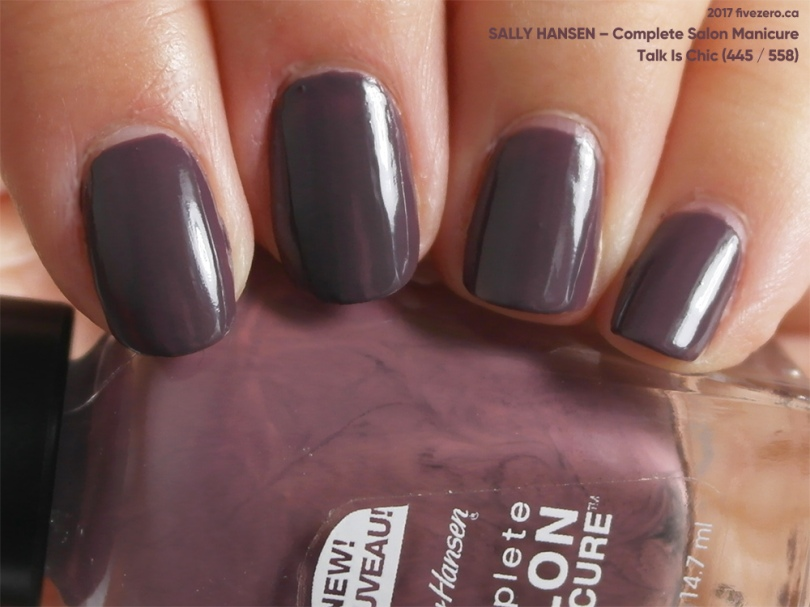 Sally Hansen Complete Salon Manicure in Talk Is Chic, swatch