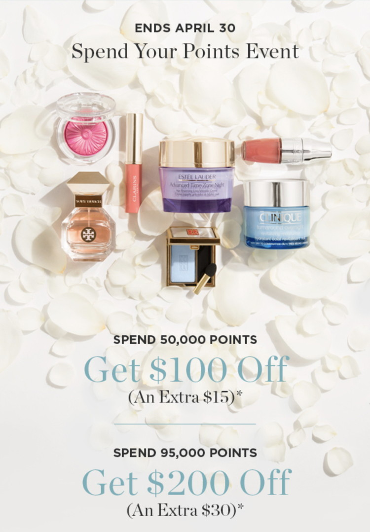 Shoppers Drug Mart Spend Your Points Event (April 29-30, 2017)
