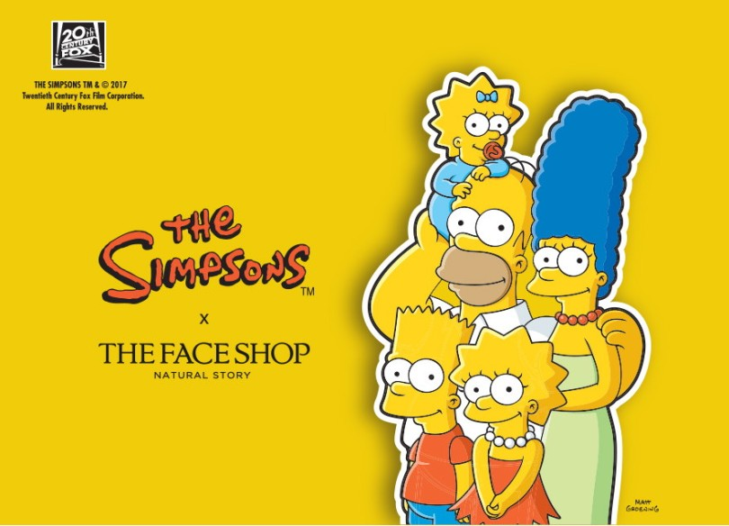 The Face Shop × The Simpsons (Summer 2017)