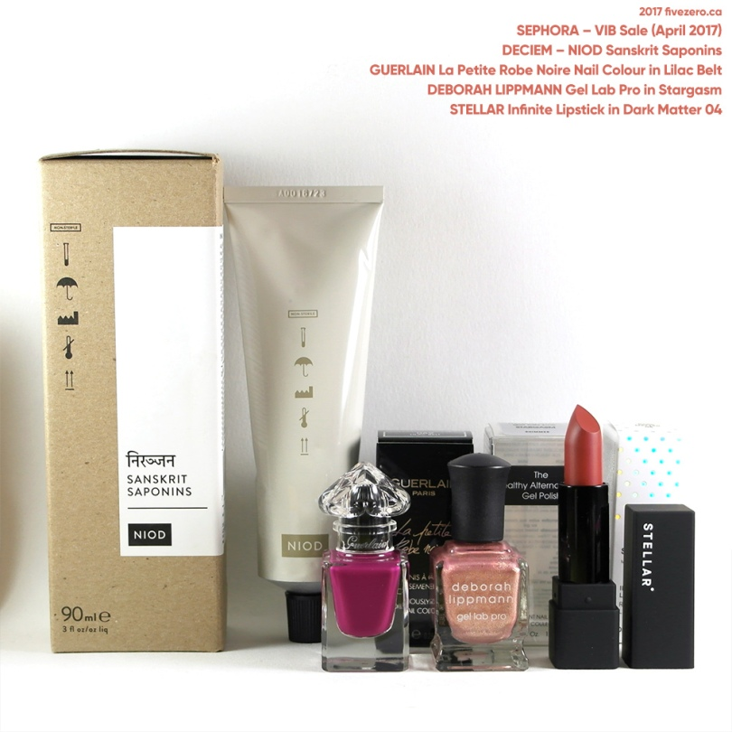 fivezero's Sephora haulage, VIB Sale (April 2017)