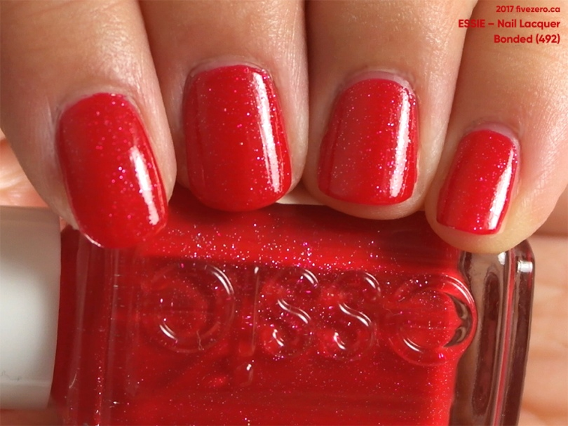 Essie Nail Lacquer in Bonded, swatch