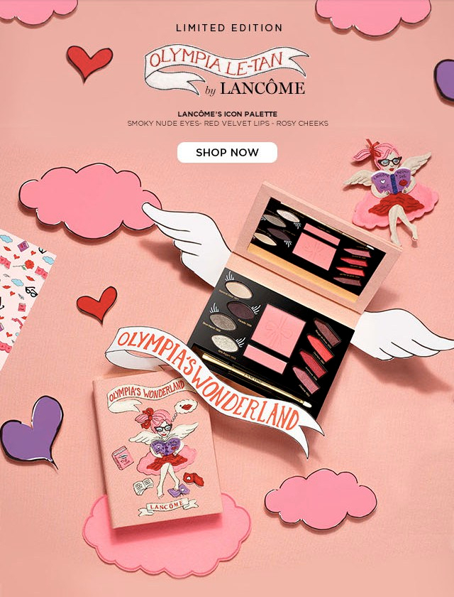 Olympia Le-Tan x Lancôme LE Fall 2017 Collection, Olympia's Wonderland Icon Palette