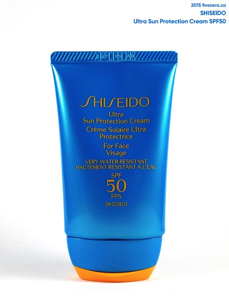 Shiseido Ultra Sun Protection Cream for Face SPF50