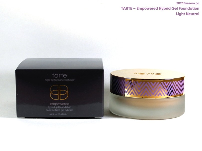 tarte Empowered Hybrid Gel Foundation in Light Neutral