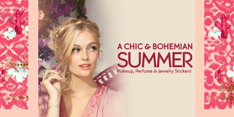 Yves Rocher, A Chic & Bohemian Summer collection (Summer 2017)