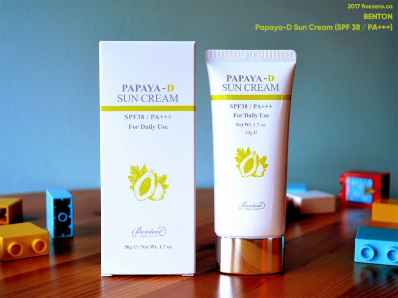 Benton Papaya-D Sun Cream (SPF 38 / P+++)